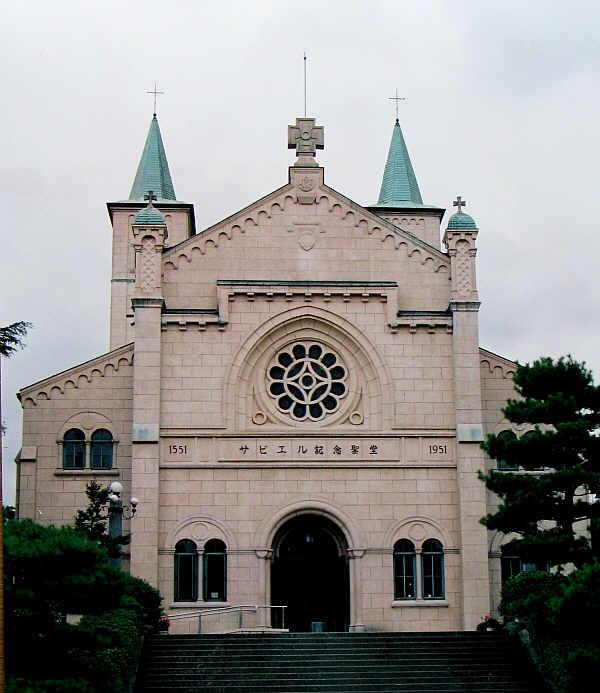 焼失前の旧サビエル記念聖堂